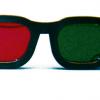Rood/Groen Bril - original model (elastisch)