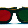 Rood/Groen Bril - original model
