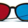 Rood/Blauw Computer Bril - Modern Model (elastisch)