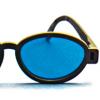 Rood/Blauw Computer Bril - Modern Model