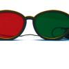Rood/Groen Bril - Modern model (elastisch)