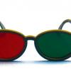 Rood/Groen Bril - Modern model