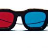 Rood/Blauw Computer Bril - Original Model (elastisch)